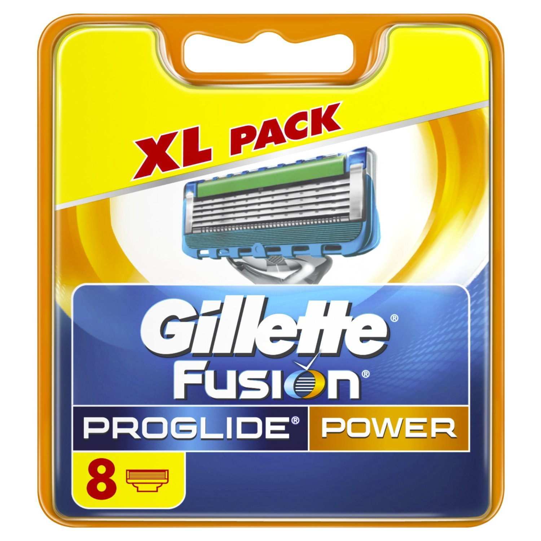 Recambios Gillette Fusion ProGlide de 8 unidades