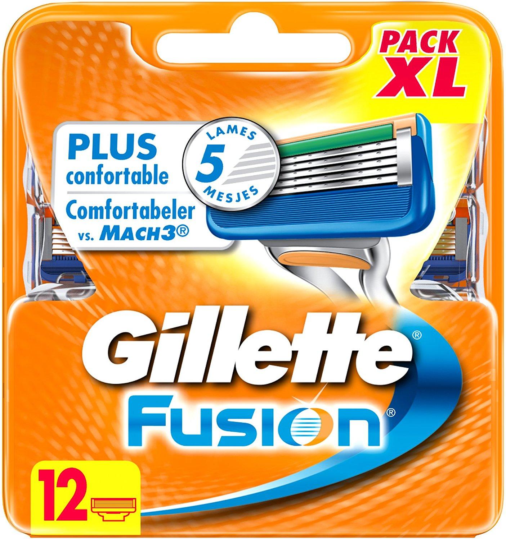 12 recambios Gillette Fusion