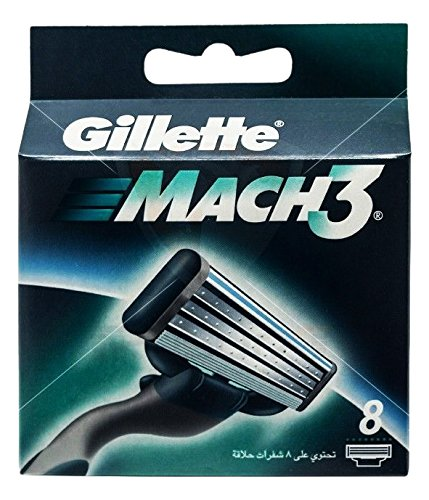 8 recambios Gillette Mach 3
